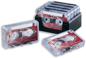 Philips Dictation LFH0005 Mini Cassette Tapes X10 (LFH0005) | Premicom Ltd